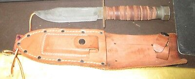 Vintage Vietnam era airforce pilot's survival knife by Camillus NY