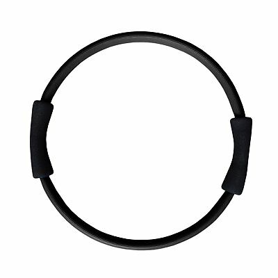 FitAndFun Pilates Ring Magic Circle Double Grip Black Training Legs Arms Cod.
