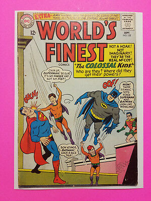World's Finest #152 Silver Age DC Comics Book VG/FN (5.0) The Colossal Kids!