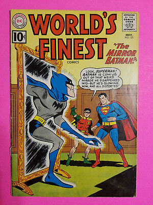 World's Finest #121 Silver Age DC Comics Book VG+ (4.5) Robin Free To Ship!