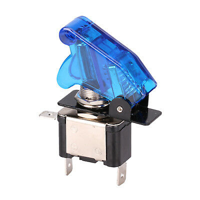 Blue Car Auto Cover LED Light Rocker Toggle Switch ON/OFF Car Truck 12V New