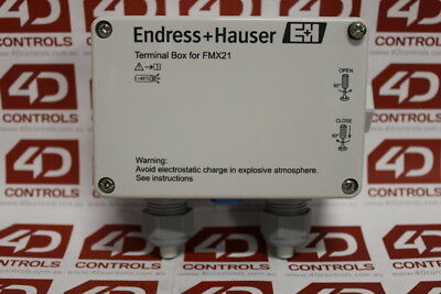 Endress + Hauser FMX21 Terminal Box - New Surplus Open