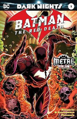 Batman The Red Death 1 1St Print Foil Stamped Cover Metal Tie In Nm Sold Out