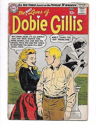 Many Loves of Dobie Gillis #1 May-June 1960 DC Comics DWAYNE HICKMAN Feature!