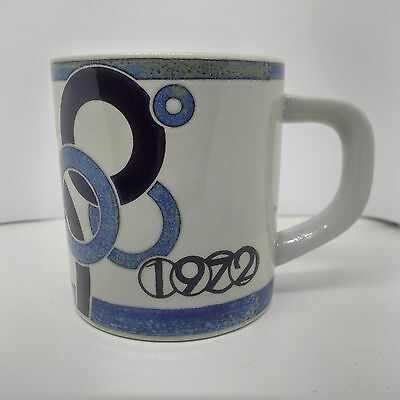 1972 Small Royal Copenhagen Annual Mug, Design by Bodi Buch