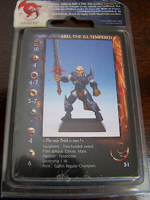 Rackham Confrontation Griffin Abel the Ill Tempered (English cards, OOP)