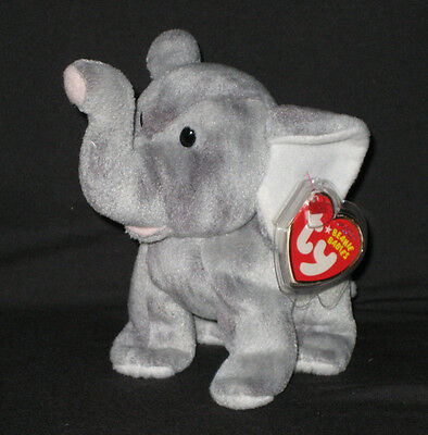 02ad9dfd89a TY MAHILA   JADE the ELEPHANT BEANIE BABY - ST. LOUIS ZOO EXCLUSIVE - MINT