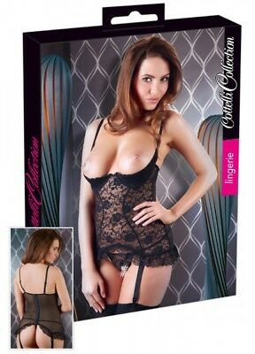 Cottelli Collection Lingerie Strapshemd 85C/XL Candis |54