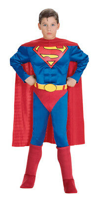 Deluxe Muscle Chest Classic Superman Kids Costume