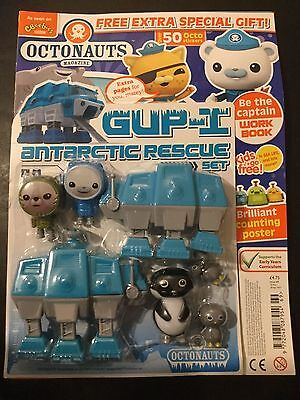 CBEEBIES - OCTONAUTS MAGAZINE - ISSUE 69 Gup-I Antarctic rescue set