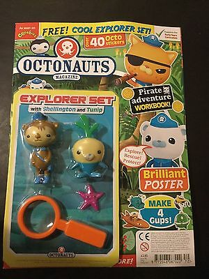 OCTONAUTS MAGAZINE #70- With shellington and tunip