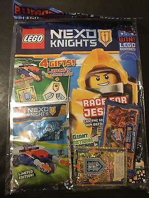 Lego NEXO KNIGHTS Magazine ISSUE  15 BUMPER GIFT PACK FREE BEAM JUMP CAR