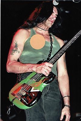 Type O Negative Peter Steele 6 - 4X6 Color Concert Photo Set #6A