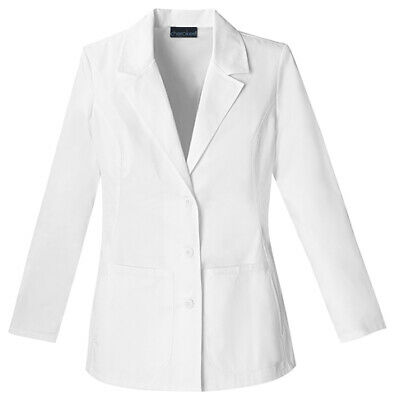 "Cherokee 2317 Women's 28"" Lab Coat Medical Uniforms Scrubs"