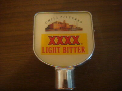 VINTAGE plastic Beer Tray with Castlemaine XXXX Icon  + xxxx beer Tap top