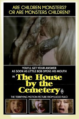 """Set Of 8 Lucio Fulci Horror Poster 6"""" x 4"""" Photo Prints  House By The Cemetery"""