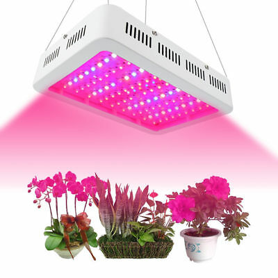LED Grow Lampe Voll Spektrum 45W/1000W Pflanze Lampe Blumen Gemüse Light Panel