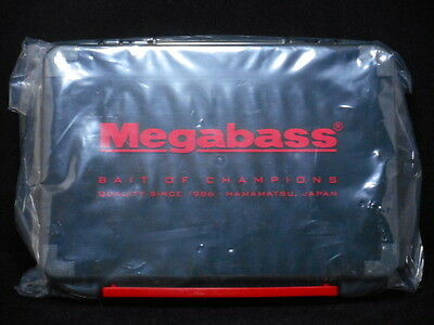 Megabass LUNKER LUNCH BOX Black end of production ML 210 Rare F/S Limited Japan