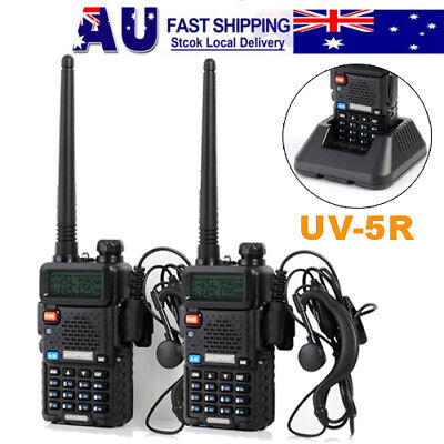 Baofeng UV-5R Handheld FM VHF/UHF Dual Band Two way Walkie Talkie Radio