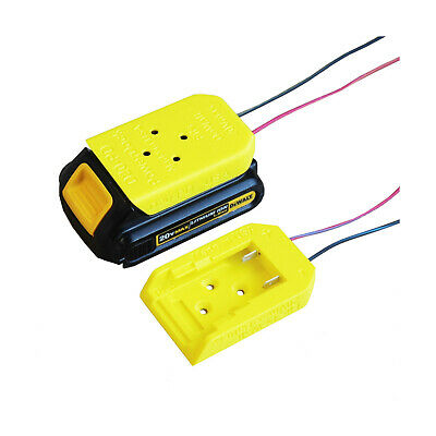 DCB-20x Power Dock for DeWalt Battery, wired, fits 20Vmax, PN# D20-PD