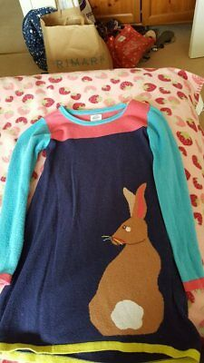 Boden jumper dress size 5-6 years