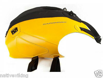 APRILIA CAPONORD 1200 RALLY 2015 yellow BAGSTER tank cover BAGLUX tank bag 1640G