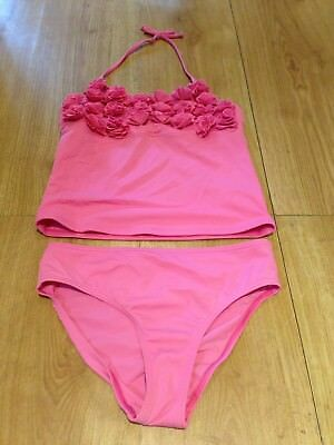 Girls M&s Tankini Age 10-11 Years