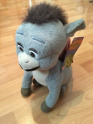 DRONKEY Official Shrek The Third Plush Soft Toy MWT