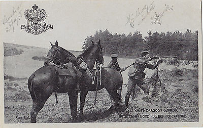 Cavalry Regiment Scouts 1st King's Dragoon Guards British Army 1908 G.D.&D.