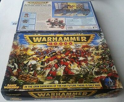 Warhammer 40k 2nd Edition Starter Set 1993 100% Complete 80 Figures 40000 Second