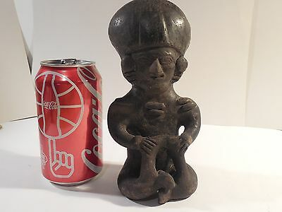 Manteno Pottery Figure Ecuador Pre-Columbian Archaic Ancient Artifact Mayan L@@K