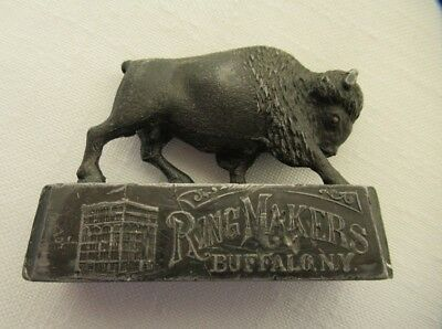 Vintage/Antique Advertising Paperweight from Heintz Brothers in Buffalo NY