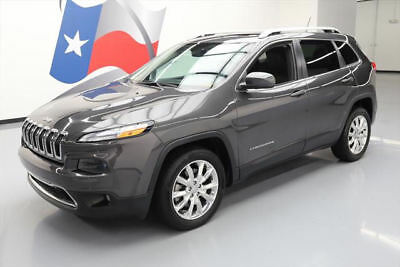 2014 Jeep Cherokee Limited Sport Utility 4-Door 2014 JEEP CHEROKEE LTD LEATHER PANO NAV REAR CAM 11K MI #292362 Texas Direct