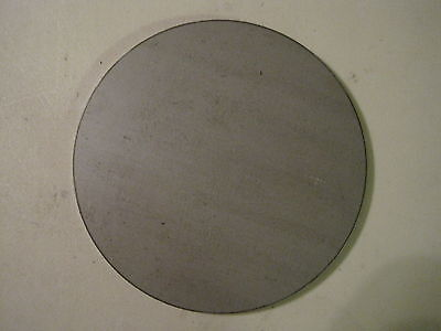 "1/8"" Steel Plate, Disc Shaped, 7.25"" Diameter, .125'' A36 Steel, Round, Circle"