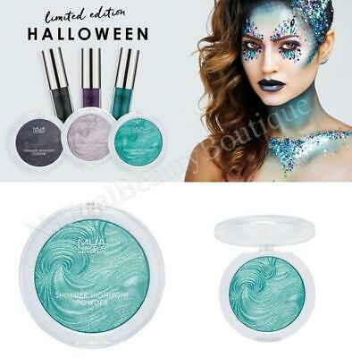 MUA MAKEUP Shimmer HIGHLIGHTER POWDER Halloween Edition (Mermaid, Medusa, Goth)