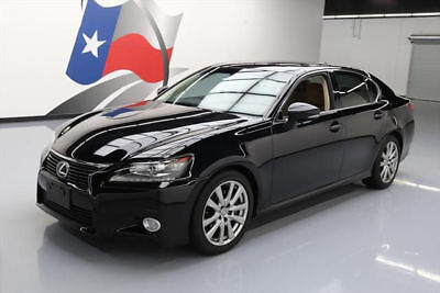 2014 Lexus GS Base Sedan 4-Door 2014 LEXUS GS350 CLIMATE SEATS SUNROOF NAV REAR CAM 43K #034150 Texas Direct