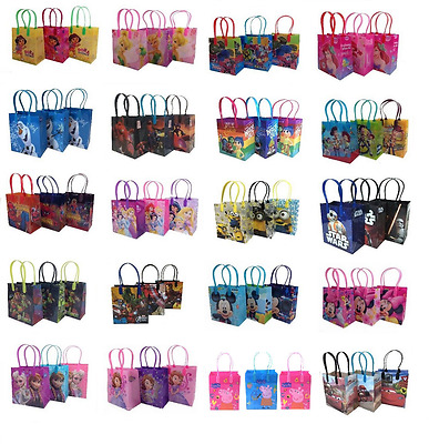 6 X Disney Inside Out Finding Dory Goody Party Favor Gift Birthday Candy Bags