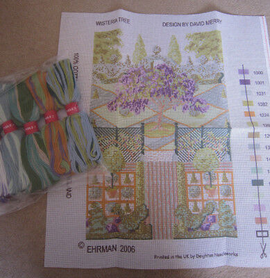 Ehrman Tapestry Kit Wisteria Tree Design by David Merry