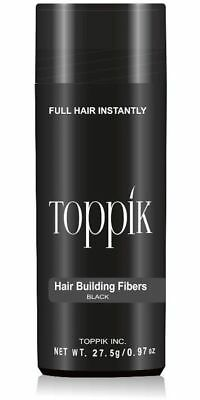 TOPPIK Hair Building Fibers 27.5g - LARGE BOTTLE -  FREE NEXT DAY DELIVERY