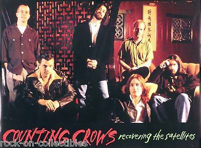 Counting Crows 1996 Recovering The Satellites Double-Sided Poster