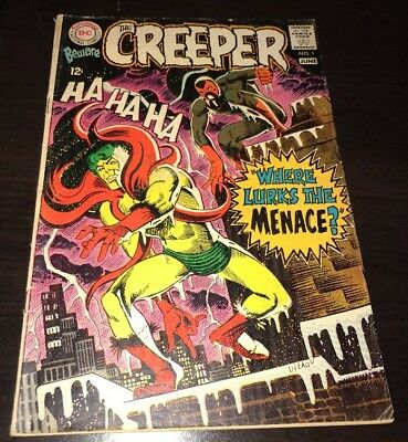 Beware The Creeper #1 VG/FN 1st Issue DC Silver Age KEY Comic Ditko Cover & Art
