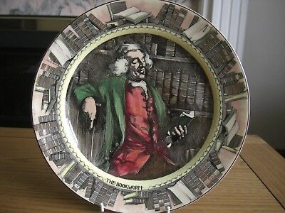Royal Doulton Plate #the Bookworm#