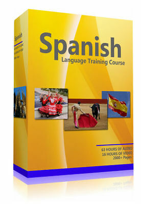 Learn To Speak Spanish - Complete Language Training Course on MP3 DVD