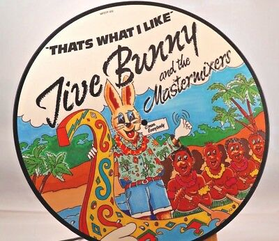 """Jive Bunny And The Mastermixers - That's What I Like 12"""" Single Picture Disc"""
