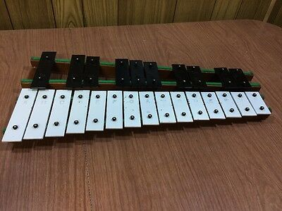 25 Key Rhythm Band Seoul Korea Xylophone Wood & Metal.