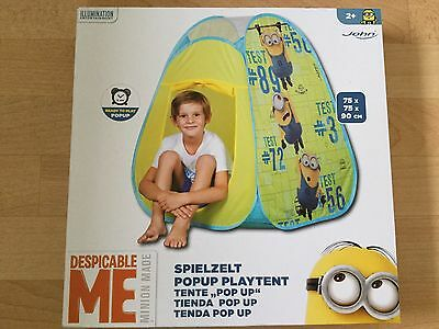 Despicable Me Minion Pop Up Play Tent Indoor or Outdoor Use
