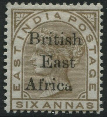 1895 British East Africa overprint on India 6 annas mint o.g.