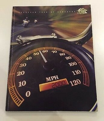 Harley Davidson European Touring Handbook Maps Collectors Motorcycles Book 2000
