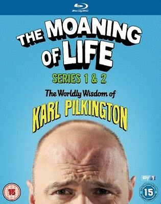The Moaning of Life: Series 1-2 [Region B] [Blu-ray] - DVD - New