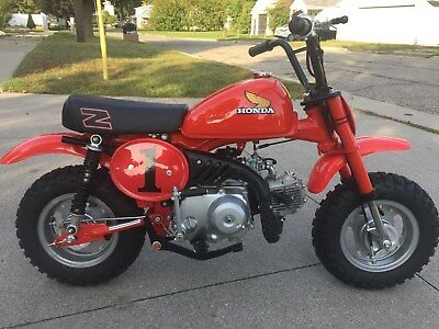 1980 Honda Z50R  HONDA Z50R MOTORCYCLE INVESTMENT GRADE Z 50 Z50 CT70